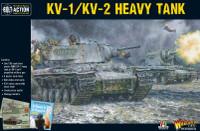 Bolt Action: WWII KV1/KV2 Soviet Heavy Tank (Plastic) 28mm Warlord Games