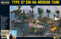 Bolt Action: WWII Type 97 Chi-Ha Japanese Medium Tank (Plastic) 28mm Warlord Games