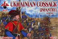 Ukrainian Cossack Infantry XVI Century Set #1 (28) 1/72 Red Box Figures