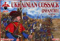 Ukrainian Cossack Infantry XVI Century Set #2 (40) 1/72 Red Box Figures