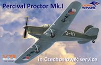 Percival Proctor Mk I Czech Service Communication Aircraft 1/72 Dora Wings