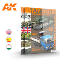 Tanker Magazine Issue 9: Rarities & Variants AK Interactive