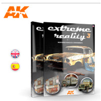 Extreme Reality 3: Weathered Vehicles & Environments Book AK Interactive
