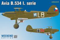 Avia B534 I Serie Aircraft (Weekend Edition) 1/72 Eduard