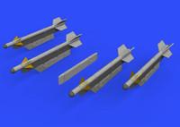 MiG-21 R-3S Missiles w/Pylons for EDU 1/72 Eduard