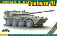 Centauro B1 105mm Wheeled Tank Destroyer 1/72 Ace Models
