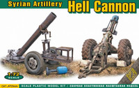 Hell Cannon Syrian Artillery 1/72 Ace Models