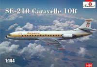 SE210 Caravelle 10R Hispania International Commercial Airliner 1/144 A-Model
