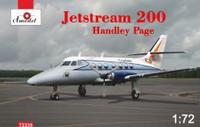 Jetstream 200 Handley Page Passenger Aircraft 1/72 A-Model