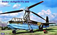 Focke-Achgelis Fa 225 Transport Helicopter 1/72 Amp Kits