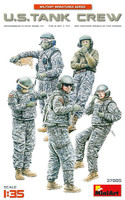 Modern US Tank Crew (5) 1/35 Miniart