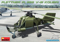 Flettner Fl 282 V-21 Kolibri Single-Seat German Helicopter 1/35 Miniart