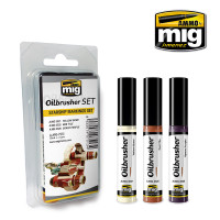 Starship Markings Oilbrushers Set AMMO of Mig Jimenez