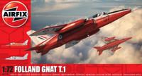 Folland Gnat T.1 Jet Trainer Aircraft 1/72 Airfix