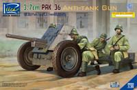 3.7cm PaK36 Anti-Tank Gun (2) 1/35 Riich