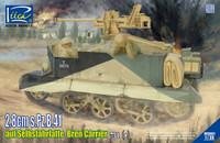 Selbsfahrlatte 731(e) Bren Carrier w/2.8cm sPzB41 Gun 1/35 Riich