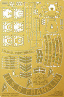 Star Trek Beyond: USS Franklin NX-326 Photo-Etch Set for MOE 1/350 Paragrafix