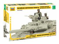 Russian Contemporary Tank Crew (3) 1/35 Zvezda