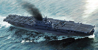 USS Enterprise CV-6 Aircraft Carrier 1/700 Trumpeter