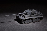 German Tiger Tank w/88mm kwk L/71 1/72 Trumpeter