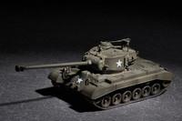US M26 Heavy Tank w/90mm T15E2M2 1/72 Trumpeter