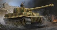PzKpfw VI Ausf E SdKfz 181 Tiger I Tank Late Production w/Zimmerit 1/35 Trumpeter