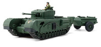 British Churchill Mk VII Crocodile Tank 1/48 Tamiya