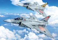 SAAB JA37/AJ37 Viggen Fighter 1/48 Italeri
