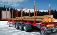Timber Trailer 1/24 Italeri