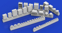 Electrical Boxes w/Conduit Fittings (Resin) 1/35 Royal Model