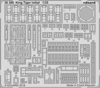 King Tiger Initial for TAO 1/35 Eduard