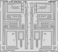 A-4F Airbrakes for HBO 1/48 Eduard