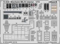 Blenheim Mk IV Interior for ARX (Painted) 1/72 Eduard