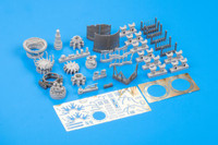 Fw 190A-8 Engine for RVL (Photo-Etch & Resin) 1/32 Eduard
