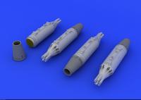 MiG-21 UB-16 Rocket Launchers for EDU (Decals, Photo-Etch & Resin) 1/72 Eduard