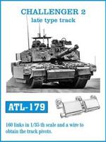 Challenger II Late Type Track Set (160 Links) 1/35 Friulmodel
