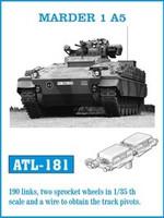 Marder 1A5 Track Set (190 Links) 1/35 Friulmodel