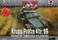 WWII Krupp Protze Kfz 69 Army Truck 1/72 First To Fight Models