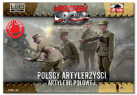 WWII Polish Artillery Crew (16) 1/72 First To Fight Models