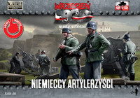 WWII German Artillery Crew (14) 1/72 First To Fight Models