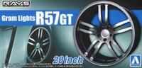 "Gram Lights R57GT 20"" Tire & Wheel Set (4) 1/24 Aoshima"