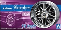 "Kranze Borphes 19"" Tire & Wheel Set (4) 1/24 Aoshima"