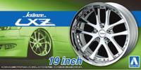 "Kranze LXZ 19"" Tire & Wheel Set (4) 1/24 Aoshima"