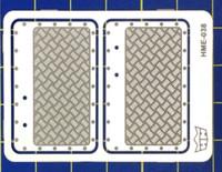 VW Beetle Interior Aluminum Door Panels for TAM 1/24-1/25 Highlight Model Studio