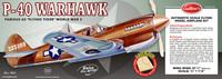 P-40 Warhawk Balsa Model Airplane Guillows