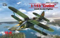 WWII Soviet I153 Chaika Fighter 1/32 ICM Models