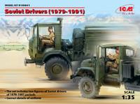 Soviet Drivers 1979-1991 (2) 1/35 ICM Models