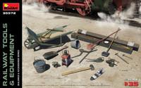 Railway Tools & Equipment 1/35 Miniart