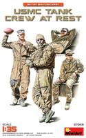 USMC Tank Crew at Rest (4) 1/35 Miniart