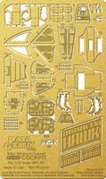 Space 1999: Hawk Mk IX Cockpit Photo-Etch Set for MPC 1/72 Paragrafix